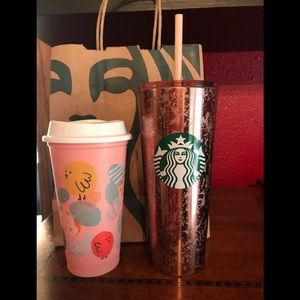 Starbucks Mercury Flake Tumbler bundle